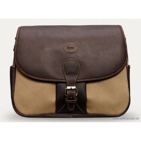 Baron Shoulder Bag Khaki Canvas