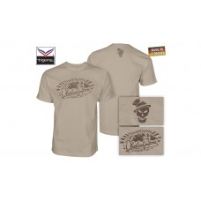 OA Lifestyle T-Shirt Sepp Sunrise Sand/Brown