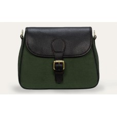 Baron Cartridge Bag green Canvas