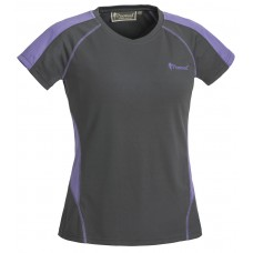 Pinewood Damen T-Shirt Active Grau/Lavendel