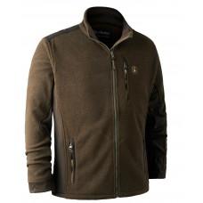Deerhunter Muflon Zip-In Fleece Jacke Grün