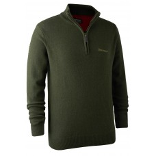 Deerhunter Hastings Pullover Zip Grün