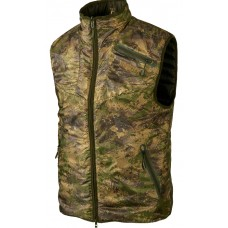 Härkila Lynx Insulated Reversible waistcoat Willow green/AXIS MSP® Forest Green