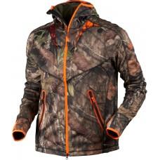 Härkila Fleecejacke Moose Hunter MossyOak®Break-Up Country®/MossyOak®OrangeBlaze