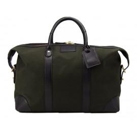 Baron Weekend Bag Green canvas