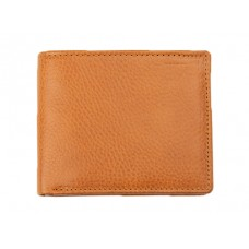 Baron Six Card Wallet Brown Grain Leder