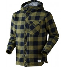 Seeland Canada Jacke Winter moss check