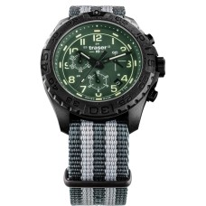Traser H3 P96 OdP Evolution Chrono Green, Natoband