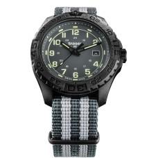 Traser H3 P96 OdP Evolution Grey, Leder-Natoband