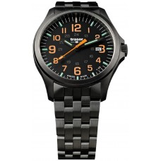Traser H3 P67 Officer Pro GunMetal Black/Orange