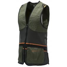 Beretta Full Mesh Vest Schwarz/Orange