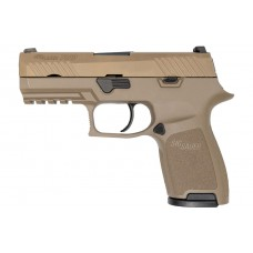 Sig Sauer P320 Dark Earth Gas-Signal Pistole, cal. 9mm P.A.K.