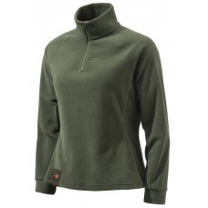 Beretta Light Polar Fleece Pullover Damen Grün