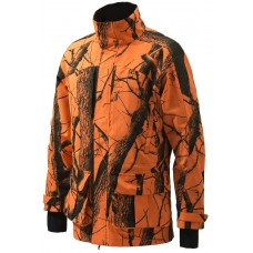 Beretta Jagdjacke Static Light Grün/Blaze Orange/Camo Xtra