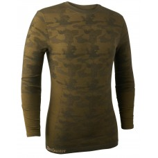 Deerhunter Camou Wolle Unterhemd Beech green