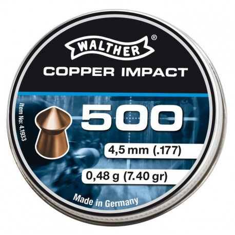 Walther Copper Impact cal. 4,5 mm, 500 Stück