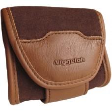 Niggeloh Das Etui für Patronen Leder Kamera, Fernglas oder Handy