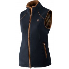 Härkila Sandhem Lady Fleece Weste Dark navy melange