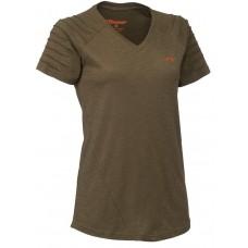 Blaser V-T-Shirt Cornelia terra melange