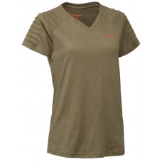 Blaser V-T-Shirt Cornelia schilf melange