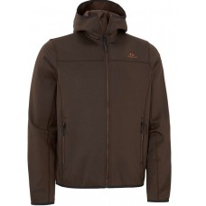 Swedteam Fleecejacke Force M Full-zip Braun