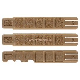 H&K Schutzleistensatz für Picatinny/STANAG 4694 Profil (3 Schienen)