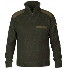 Fjällräven Koster Sweater M Dark Olive