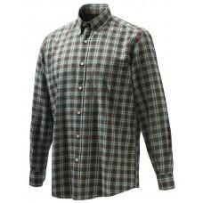 Beretta Wood Button Down Hemd Green/Port Royale Check