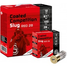 Geco Coated Competition Slug Red 28