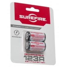 SureFire CR123A aufladbare Batterien