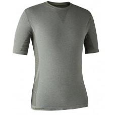 Deerhunter Performance Unterwäsche T-Shirt Soft Green Melange