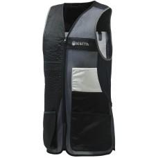Beretta Schießweste Uniform Pro 20.20 Cotton Schwarz/Grau