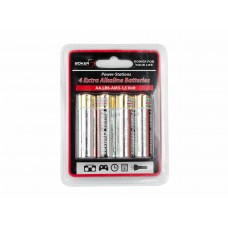 Taschenlampen Plus Power-Station Batterieset 4x AA