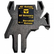 Schärfgerät Work Sharp 40° Outdoor Messerführung