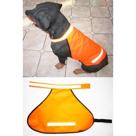 Heim Sommer Signalweste für Hunde ungefüttert