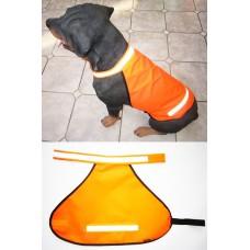 Heim Winter Signalweste für Hunde gefüttert