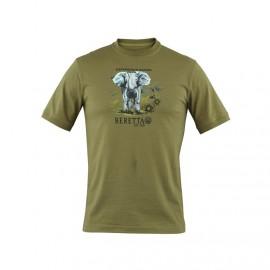 Beretta Elephant Safari T - Shirt