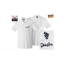 OA Lifestyle Polo-Shirt White/Navy
