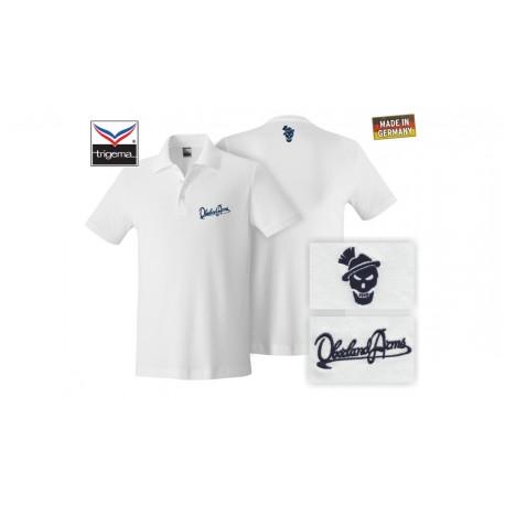 OA Lifestyle Polo-Shirt White/Navy