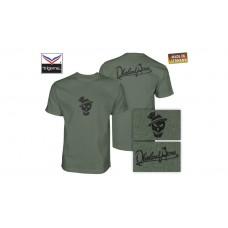 OA Lifestyle T-Shirt Big Sepp Oliv/Black