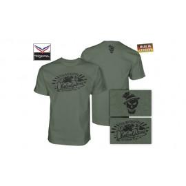 OA Lifestyle T-Shirt Sepp Sunrise Oliv/Black