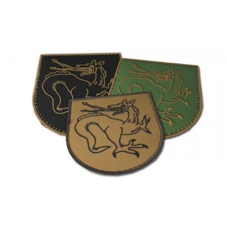 3D Rubber Patches OA Tatzelwurm