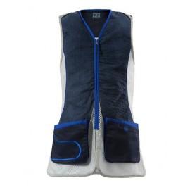 Beretta Schießweste DT11 Damen blau/schwarz/silber