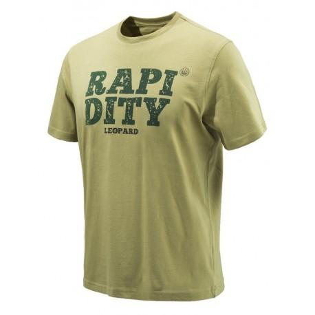 Beretta T-shirt safari Leopard