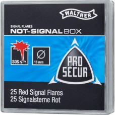 WALTHER NOTSIGNAL-BOX Inhalt: 25 Schuss