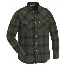 Pinewood Herren Lumbo Hemd Grün/Schwarz