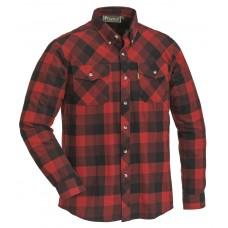 Pinewood Herren Lumbo Hemd Rot/Schwarz