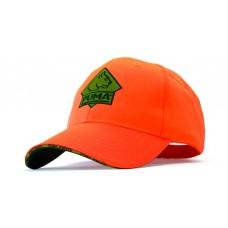PUMA Kappe neon orange mit Klettverschluss