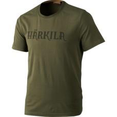 Härkila Logo T-Shirt Dark olive