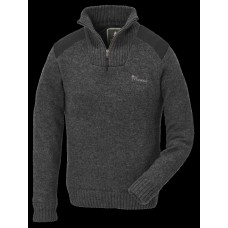 Pinewood 9349 Hurricane Strickpullover Damen Dunkelgrau Mix